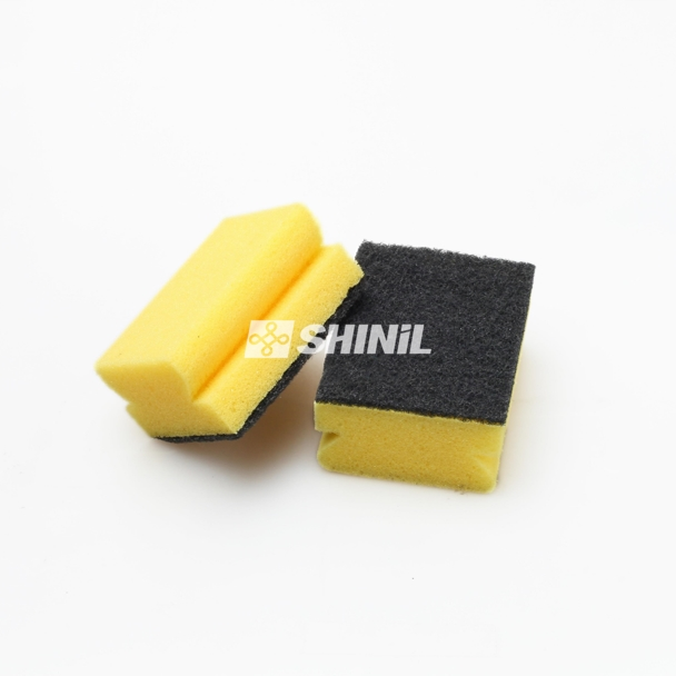 Prime Scrubber Sponge with Greener Nylon Scouring Pad for Kitchen Cleaning